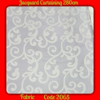 Jacquard Curtaining Fabric Material ( 280cm )