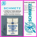 Schmetz Stretch Twin Needles