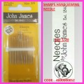JOHN JAMES SHARPS NEEDLES SIZE 3/9