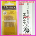 JOHN JAMES SHARP NEEDLES  SIZE 5/10