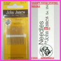 JOHN JAMES SHARP NEEDLES  SIZE 10