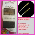SEW MATE QUILING NEEDLES 0.53X27MM X