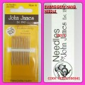 JOHN JAMES EMBROIDERY HAND NEEDLE SIZE 6