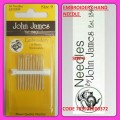 JOHN JAMES EMBROIDERY HAND NEEDLE SIZE 9