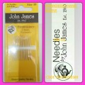 JOHN JAMES EMBROIDERY HAND NEEDLE SIZE 10