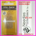 JOHN JAMES MILLINERS HAND SEWING NEEDLES  SIZE 5/10