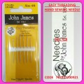 JOHN JAMES EASY THREADING HAND SEWING NEEDLE SIZE 4/8