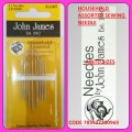 JOHN JAMES HOUSEHOLD ASSORTED SEWING NEEDLE SIZE ASSTD