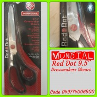 "MANDIAL Dressmaker Shears 9½"" Knife Edge"