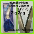 B4715- TRIUMPH PINKING SHEARS235MM