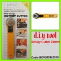 RC-1- ROTARY CUTTER NEW DESIGN  28MM