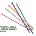 ALUMINUM SINGLE KNITTING NEEDLES - 2.00mm