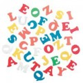 FOAM STICKERS UPPERCASE ALPHABET 16G