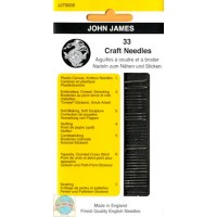 JJ70000 JOHN JAMES 33 CRAFT NEEDLES