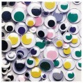 ROUND EYES ASSORTED COLORS32PCS 12MM