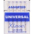 XLASSE ASSORTED UNIVERSAL MACHINE NEEDLES