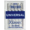 XLASSE UNIVERSAL MACHINE NEEDLES SIZE 70 10
