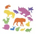FOAM STICKERS ANIMALS 16G