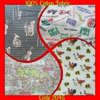 100% Cotton Fabric (145cm)